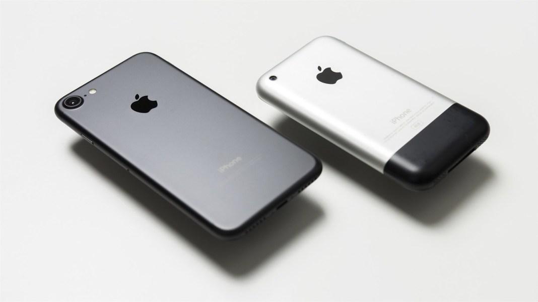 ilk-iphone-ve-iphone-7