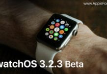 watchOS 3.2.3 Beta