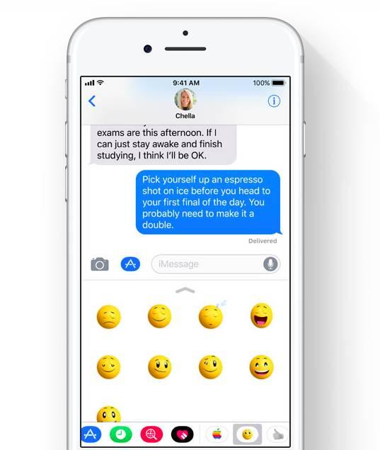 iOS 11 Mesajlar
