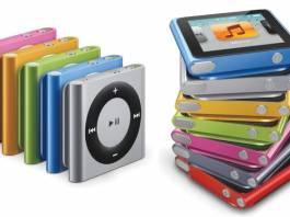 iPod nano ve iPod shuffle