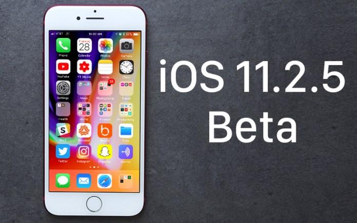iOS 11.2.5 Beta
