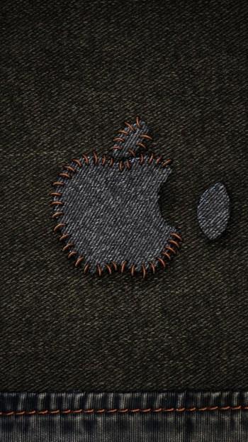apple-denim-stitched-logo-iphone-6-wallpaper