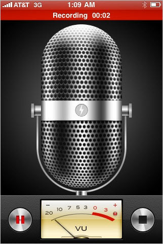 iOS-3-Ses-Kaydedicisi