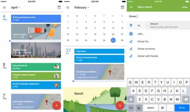 ios calendar replacement google calendar