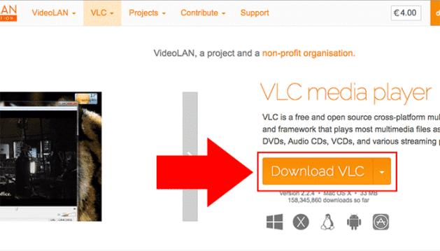 record your mac webcam vlc download
