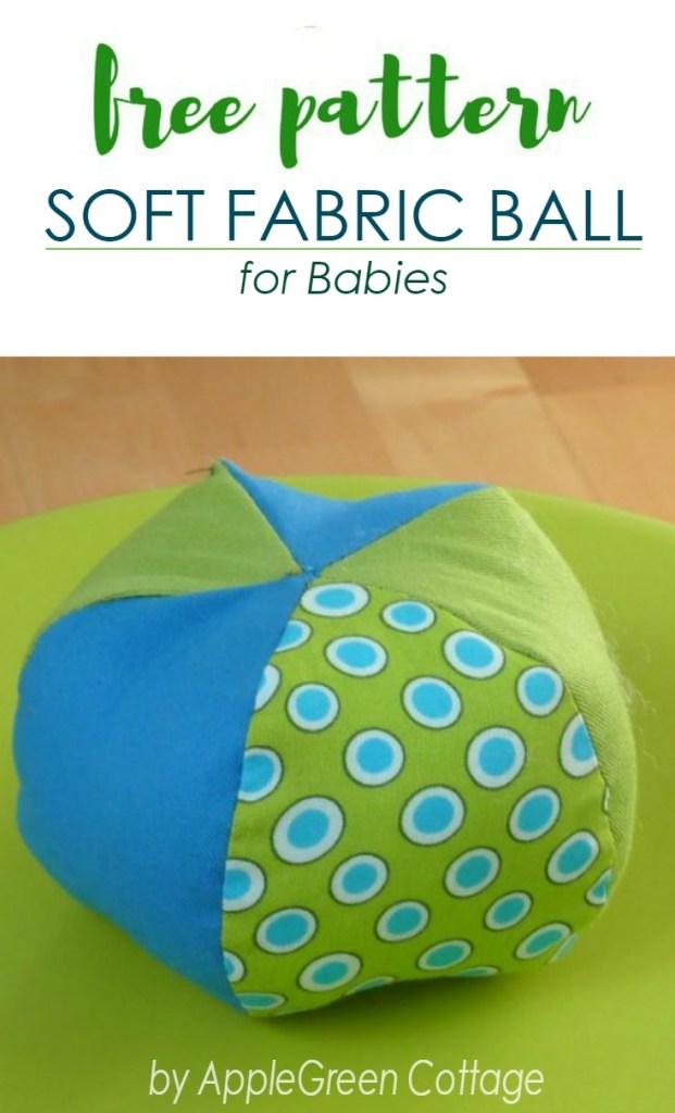 Soft Ball Pattern – Free Sewing Pattern