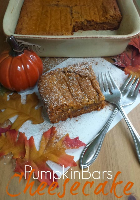 pumpkin cheesescake for kids