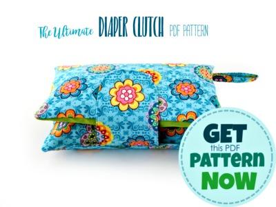 diaper clutch sewing pattern