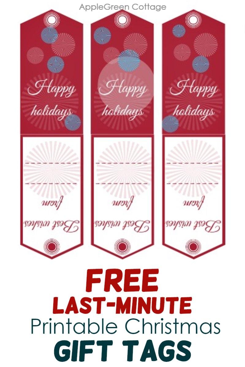 get free printable gift tags