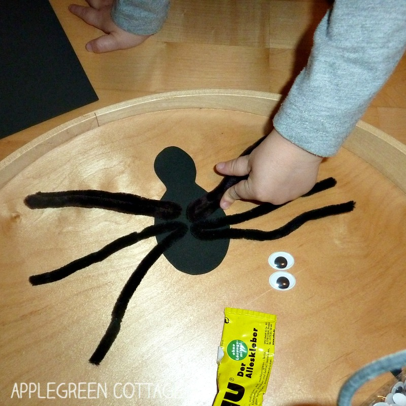 how to make diy spider