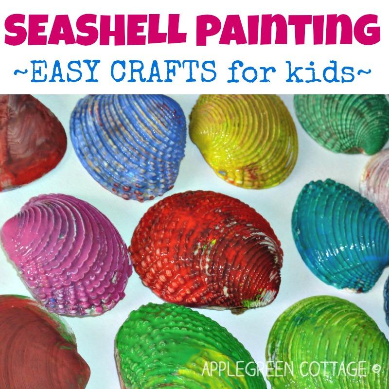 Seashell Painting – Fun Activity!
