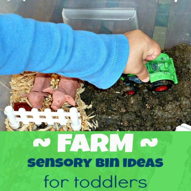 sensory activities for kids - farm