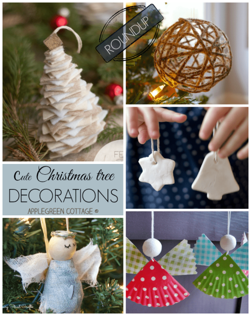 diy ornaments for christmas tree