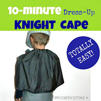 diy knight cape