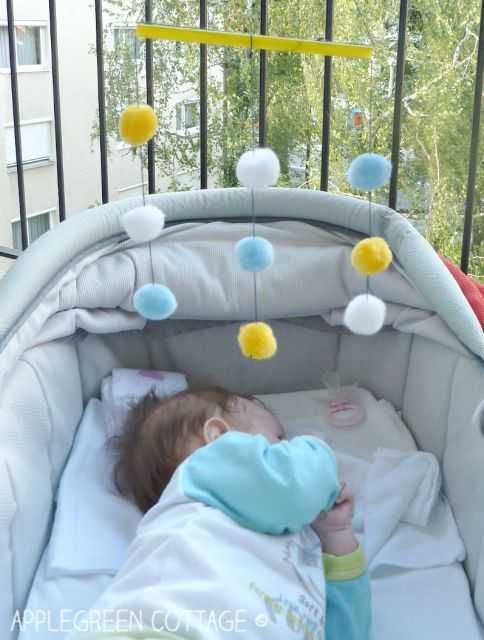 how to make your own baby mobile