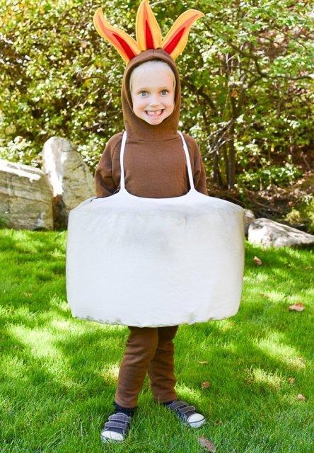 diy halloween marshmallow costume