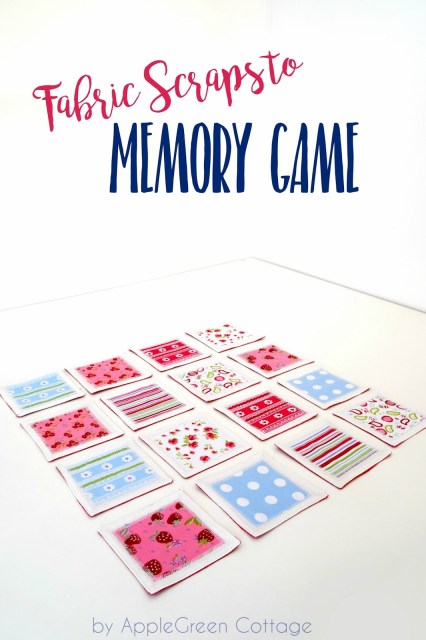 easy-sew memory game