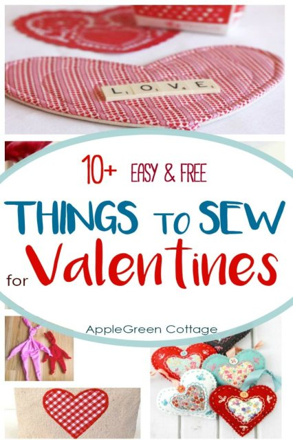valentine sewing projects