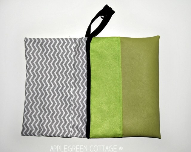 zipper bag free sewing pattern