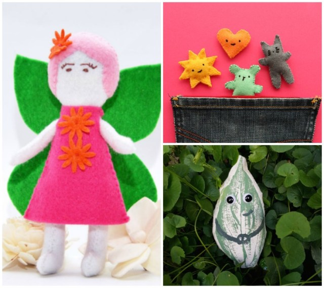 More than 20 free and new softie sewing tutorials and free patterns, part of the Sew A Softie initiative. Check them out!