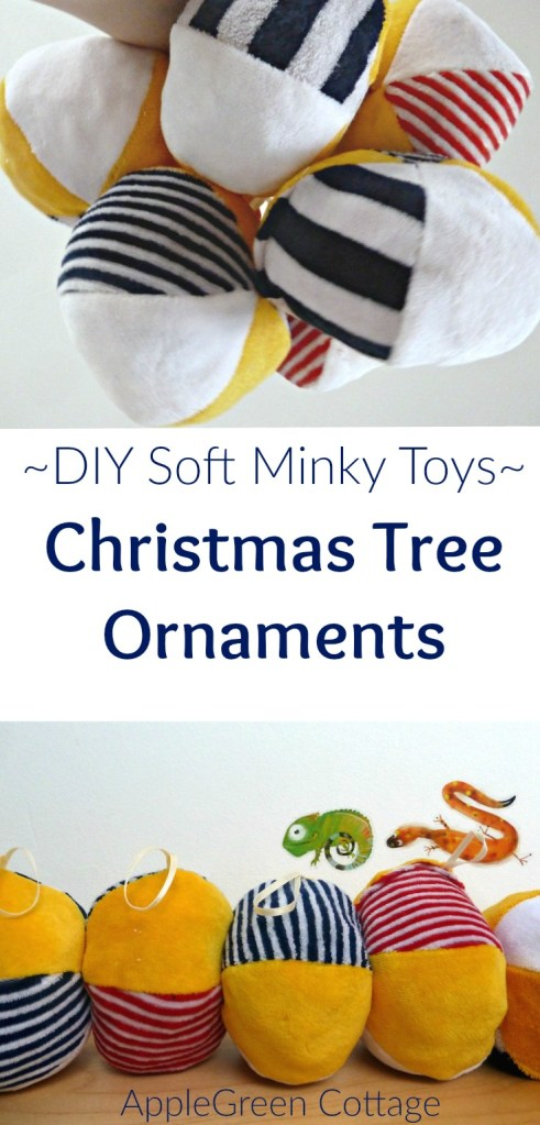 Make Soft Toy Christmas Decorations – With Free Minky Patterns!