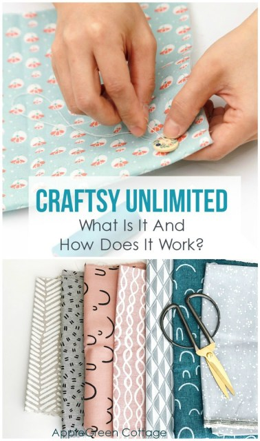 Craftsy Unlimited is a new subscription program for sewing, crafting, quilting, crochet projects. You get access to thousands of hours of video crafting tutorials. Free trial!