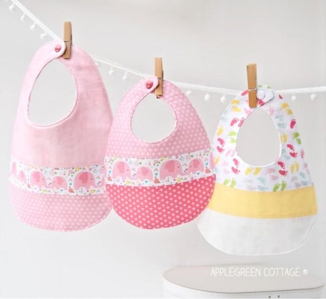 free baby pattern - baby bib