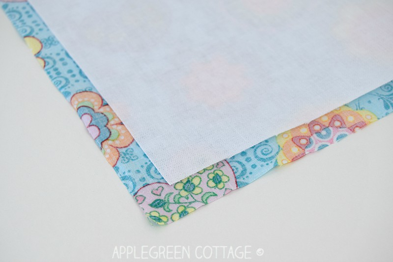 Beginner sewing tips at AppleGreen Cottage.