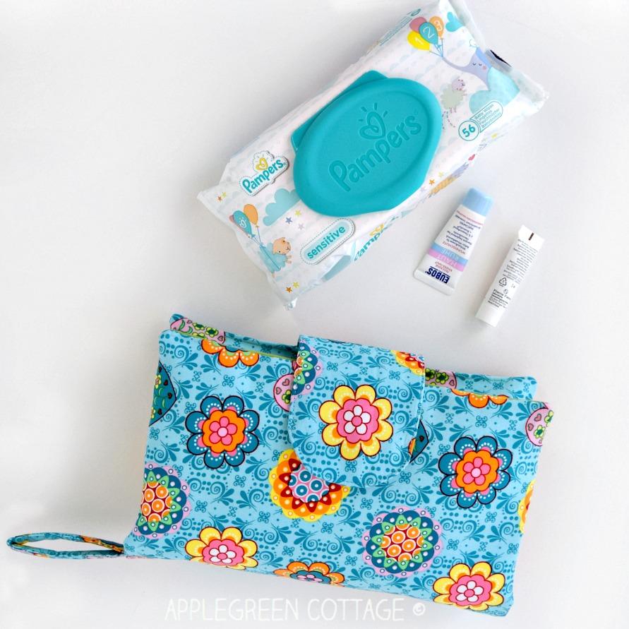 diaper clutch pattern to sew