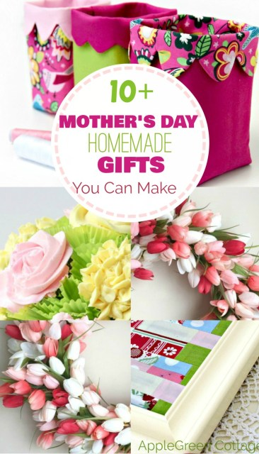 Mothers Day homemade gifts you can make this year