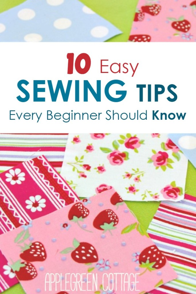 10 Sewing Tips For Beginners You Should Know