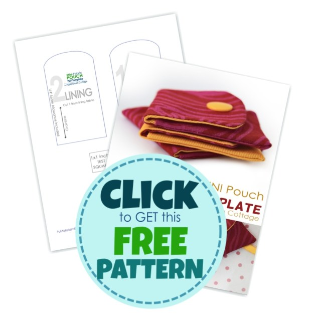 get small pouch pattern for free