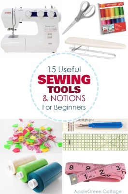 These sewing tools and notions will make your sewing life easier!
