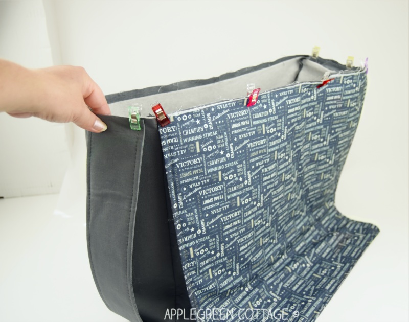 how to sew a messenger bag