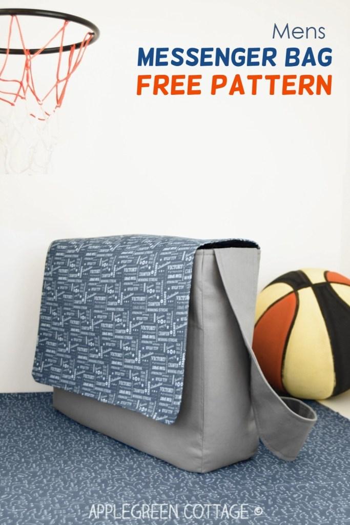 Mens Messenger Bag Pattern – Free!