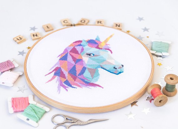 unicorn crafts diy pattern