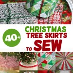 40 Christmas Tree Skirt Pattern Ideas To Sew Applegreen Cottage