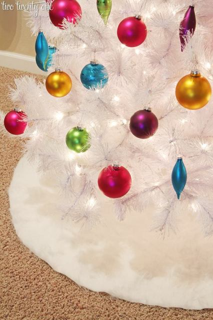 Diy tree skirts to make for your Christmas tree