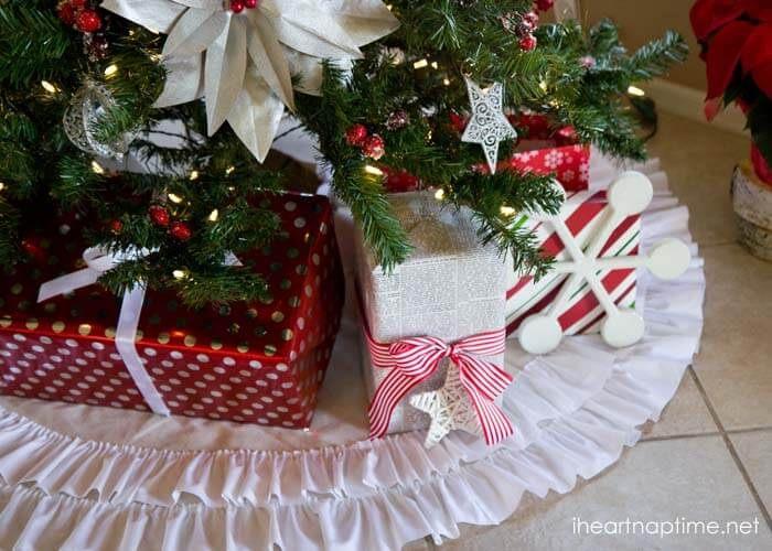 Diy tree skirts