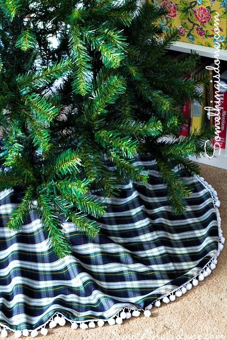 Christmas tree skirt free pattern