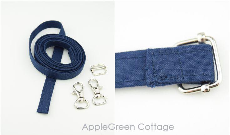 how to make detachable bag strap