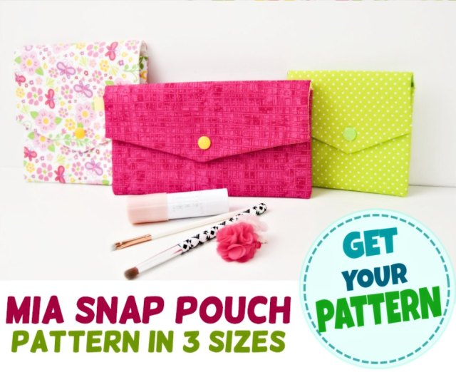 pouch pattern with pocket