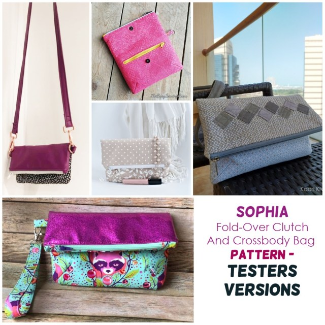 testers versions of the sophia clutch