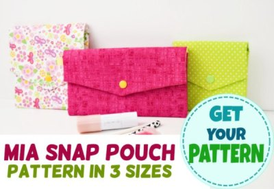 easy pouch pattern