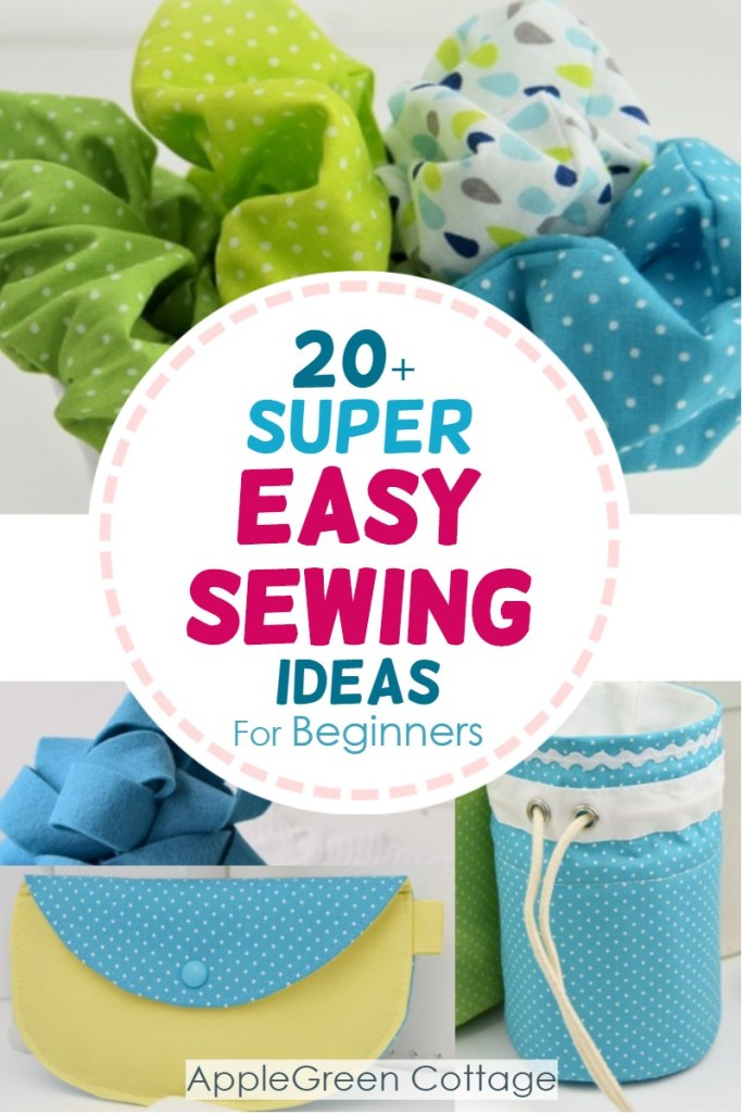 20+ Super Easy Sewing Projects