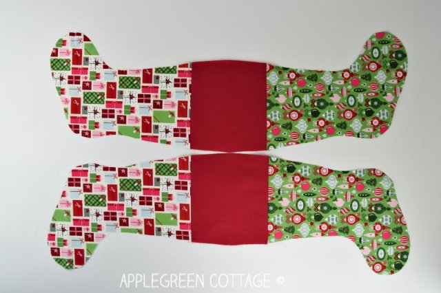 pattern for Christmas stocking