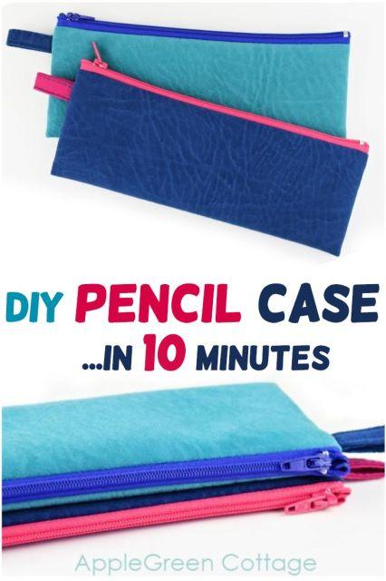 diy pencil case