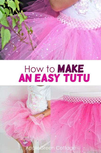 how to make tutu