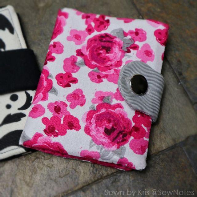 floral bifold wallet
