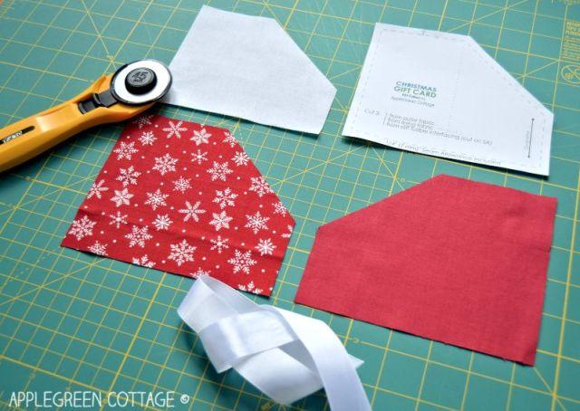 Christmas gift card holder